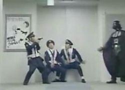 Японская полиция против Дарта Вейдера
