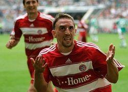 Френк Рибери (Franck Ribery) напугал прохожих