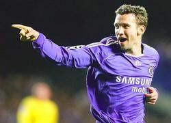 Андрей Шевченко признан худшим форвардом английской Премьер-лиги