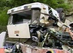 В Колумбии автобус упал в пропасть, погибли 23 человека