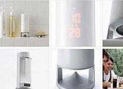 Водонепроницаемый MP3-плеер идеален для ванной комнаты