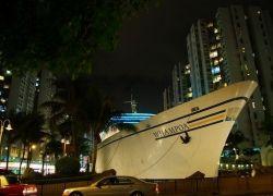 Отель-корабль в Гонконге
