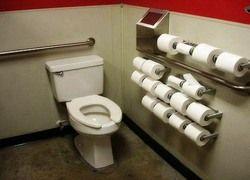 Россия потребляет гораздо меньше туалетной бумаги, чем Запад