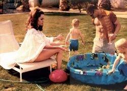 Анджелина Джоли и Брэд Питт: Семейное счастье в журнале W