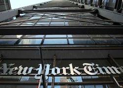 Прибыль The New York Times сократилась в пять раз