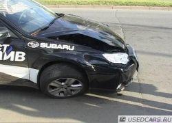 Тест-драйв Subaru Outback закончился крупным ДТП