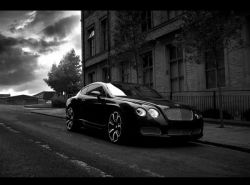 Тюнинг-ателье представило Bentley GTS Black Edition