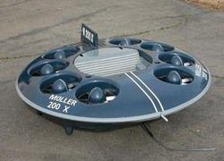 Продажи летающих тарелок начнутся в 2009 году