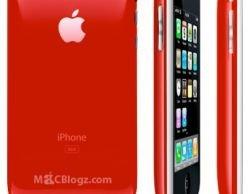 Появится красный iPhone 3G?