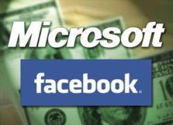 Microsoft станет поставлять рекламу и интернет-поиск на Facebook