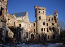Настоящий заброшенный замок в Ивановской области