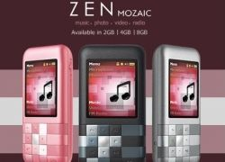 В продаже появились Creative Zen Mozaic
