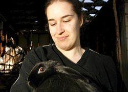 Австралийский кролик спас своих хозяев от пожара