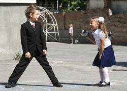 Московских школьников будут охранять женщины в бронежилетах