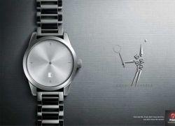 Самая изысканная реклама наручных часов