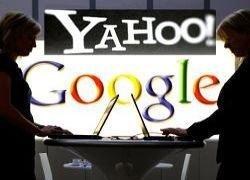 Yahoo и Google поменяются рекламой