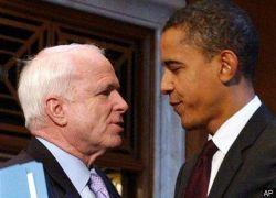 Джон Маккейн и Барак Обама поспорили об Ираке
