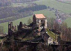 Чешский граф искал под своим замком золото