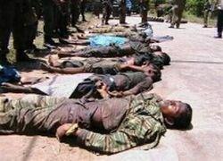 Военные Шри-Ланки уничтожили 60 боевиков ТОТИ