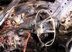 В Хасавюрте взорван автомобиль с тротилом