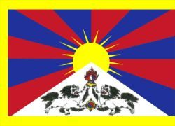 Значок с флагом Тибета поссорил Китай и Чехию