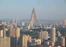 В Пхеньяне достроят гигантский отель