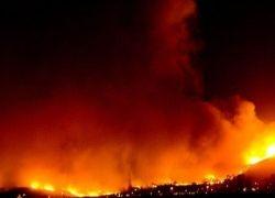 В Калифорнии бушуют лесные пожары
