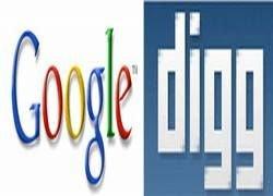 Сделка Google-Digg сорвалась