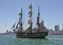 Парад кораблей в San Francisco
