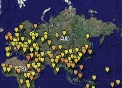 Виртуальная карта опасных инфекций