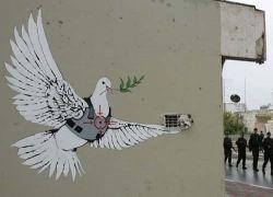 Заборное творчество палестино-израильского конфликта