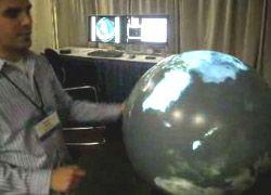 Сенсорный глобус от Microsoft