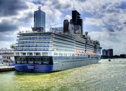 Спущен на воду новейший круизный лайнер Eurodam