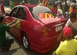 Полицейские машины будут заправлять отходами из McDonald`s