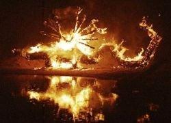 Под Петербургом пройдет фестиваль огненной соломенной скульптуры