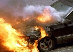 В Назрани взрыв у МВД поджег 15 машин
