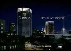 Световое шоу в стиле Guinness