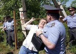 В Бутово начались новые столкновения местных жителей и милиции