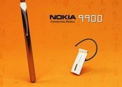 Концепт телефона Nokia 9900 — ручка с выдвижным сенсорным дисплеем