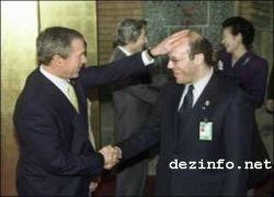 Джордж Буш любит лысых?