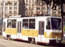 В Москве выпущен экспериментальный трамвай