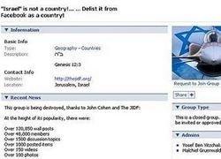 Израильские хакеры захватили антисемитскую группу в Facebook