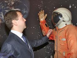 Медведев объявил 2011 год - годом российской космонавтики
