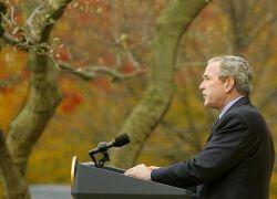 Джордж Буш исправил географические карты