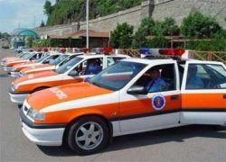 В Южной Осетии подорвалась машина с грузинскими полицейскими