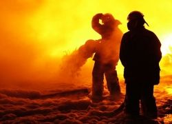 Анталью охватил сильный пожар