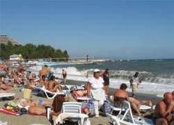 Крым уже потерял 90 тысяч отдыхающих