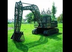 Необычные стальные скульптуры