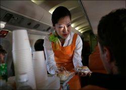Вода и чай на борту US Airways станут платными