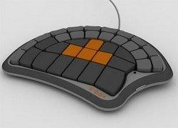 Концепт клавиатуры для геймеров